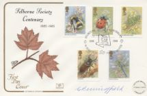12.03.1985 British Insects Selborne Society Centenary Cotswold