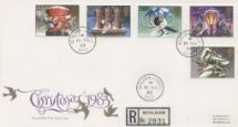 16.11.1983 Christmas 1983 Circular Date Stamps Royal Mail/Post Office