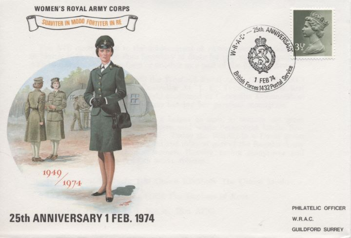 Womens Royal Army Corps, Woman in Uniform