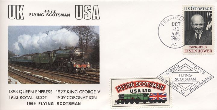 Flying Scotsman, UK to USA