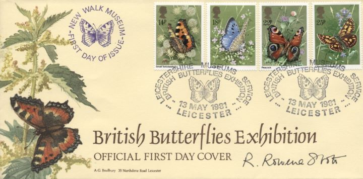 Butterflies, Country Diary of an Edwardian Lady by Edith Holden