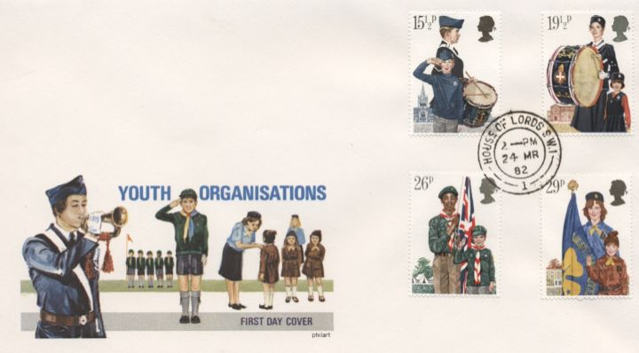 Youth Organisations, Uniforms