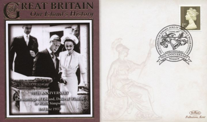 70th Anniversary, Marriage of Edward, Duke of Windsor to Wallis Simpson