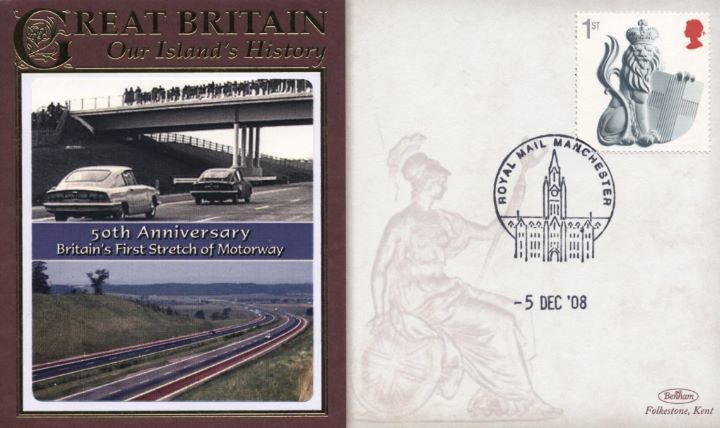 Britains First Stretch of Motorway, Preston By Pass