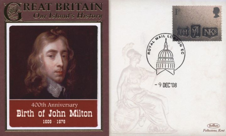 400th Anniversary, Birth of John Milton