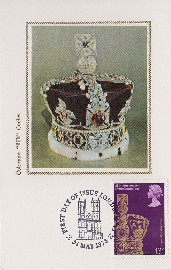 Coronation 25th Anniversary, Imperial State Crown