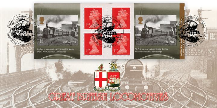 Self Adhesive: Classic Locomotives (4), Classic Locomotives of Wales