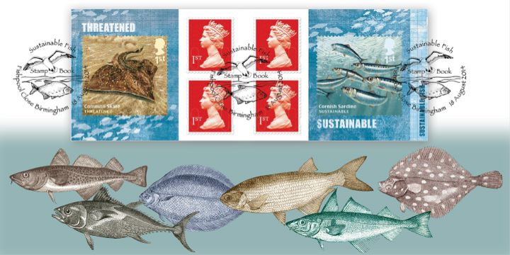 Self Adhesive: Sustainable Fish, Species of fish
