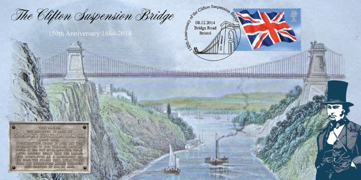 Clifton Suspension Bridge, 150th Anniversary