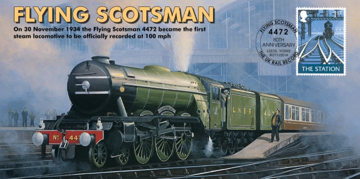 Flying Scotsman, UK World Steam Record 100mph
