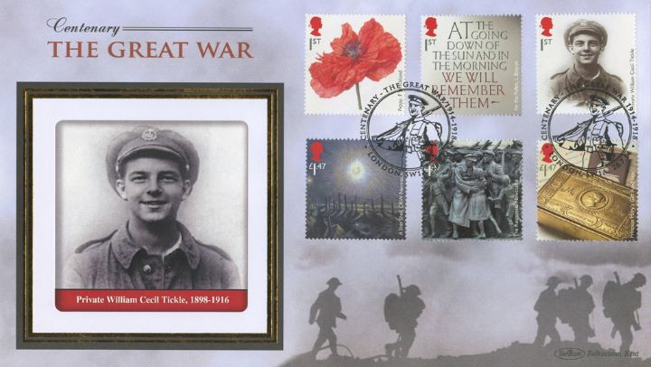 The Great War 2014, Private William Cecil Tickle