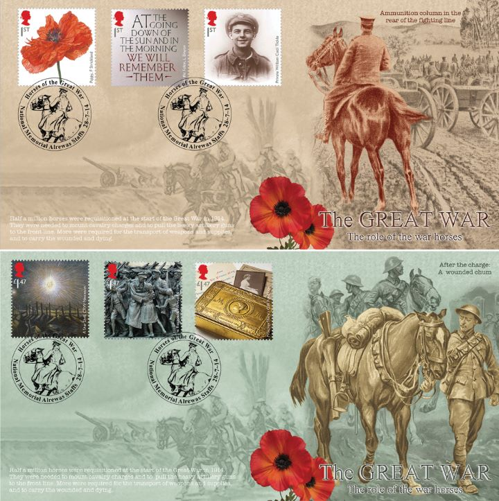 The Great War 2014, The role of the War Horse - pair