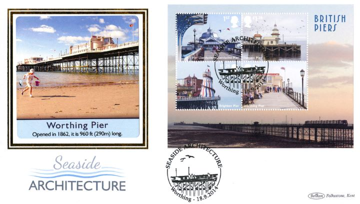 Seaside Architecture: Miniature Sheet, Worthing Pier