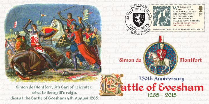 Battle of Evesham, Death of Simon de Montfort