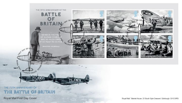 Battle of Britain: Miniature Sheet, Spitfires