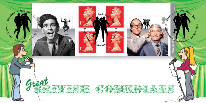 Self Adhesive: Comedy Greats, Comedians on Stage