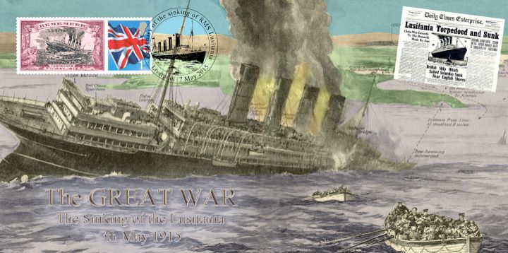 The Sinking of RMS Lusitania, The Great War