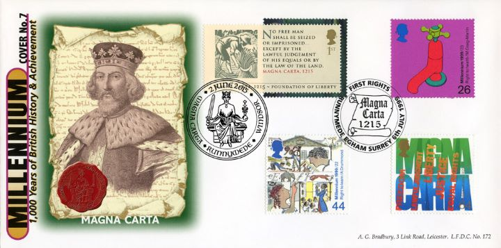 Magna Carta Double Dated No.10