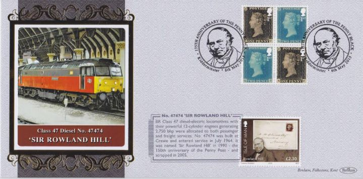 Penny Black: Miniature Sheet, Diesel - Sir Rowland Hill