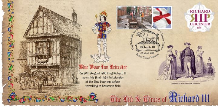 Life & Times of Richard III (8), The Blue Boar Inn
