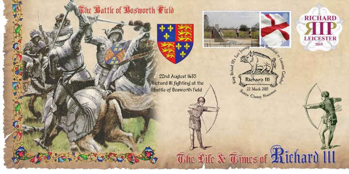 Life & Times of Richard III (10), Battle of Bosworth Field
