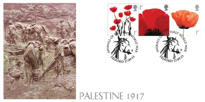 Horses in Palestine 1917, Animals of the First World War