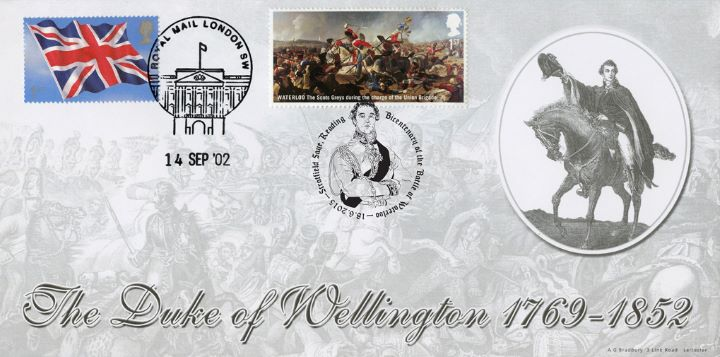 Battle of Waterloo, Duke of Wellington - Double Dated