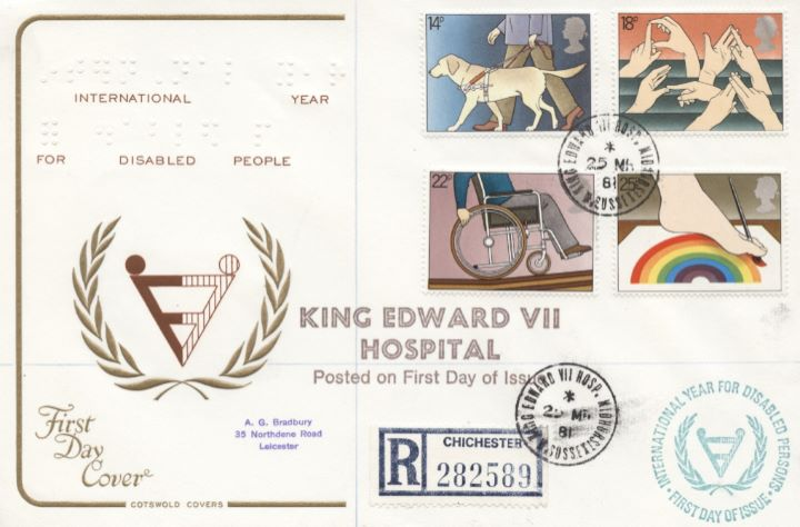Year of the Disabled, CDS Postmarks