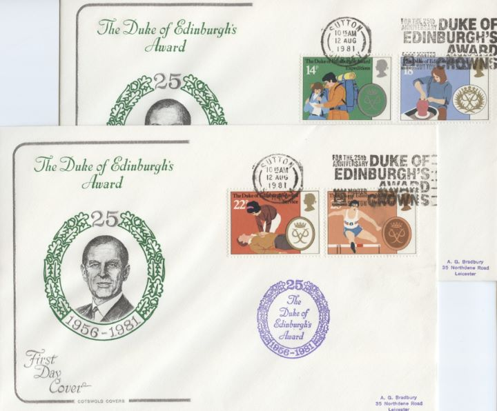 Duke of Edinburgh's Awards, CDS & Slogan Postmarks