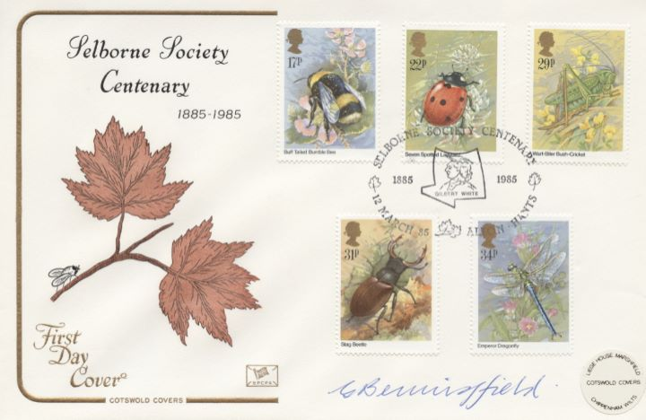 British Insects, Selborne Society Centenary