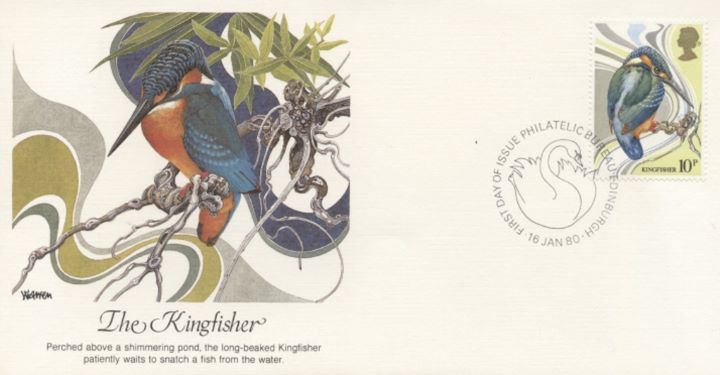 British Birds 1980, The Kingfisher