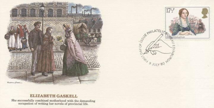 Famous Women Authors, Elizabeth Gaskell