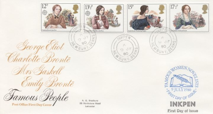 Famous Women Authors, Post Office cds covers
