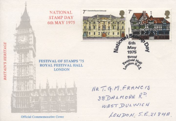 National Stamp Day, Royal Festival Hall
