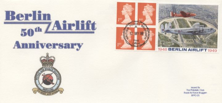 Window: Berlin Airlift, RAF Bruggen Crest