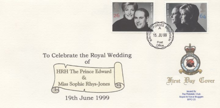 Royal Wedding 1999, RAF Bruggen Crest