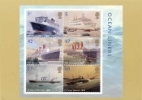 Ocean Liners: Miniature Sheet