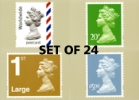 National Definitives PHQ Set of 24