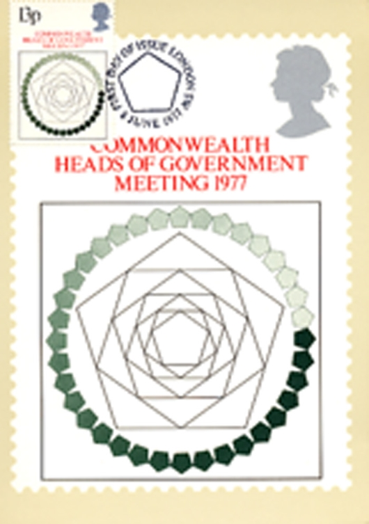 Heads of Government: 13p PHQ Card