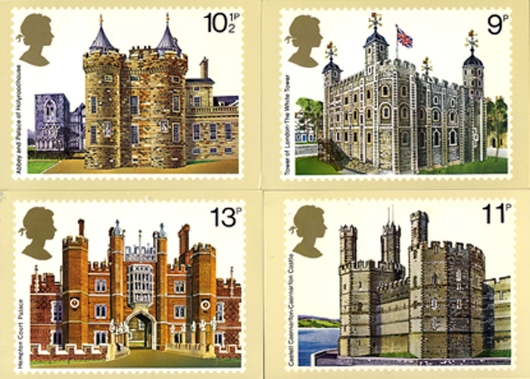 Historic Buildings: Stamps PHQ Card