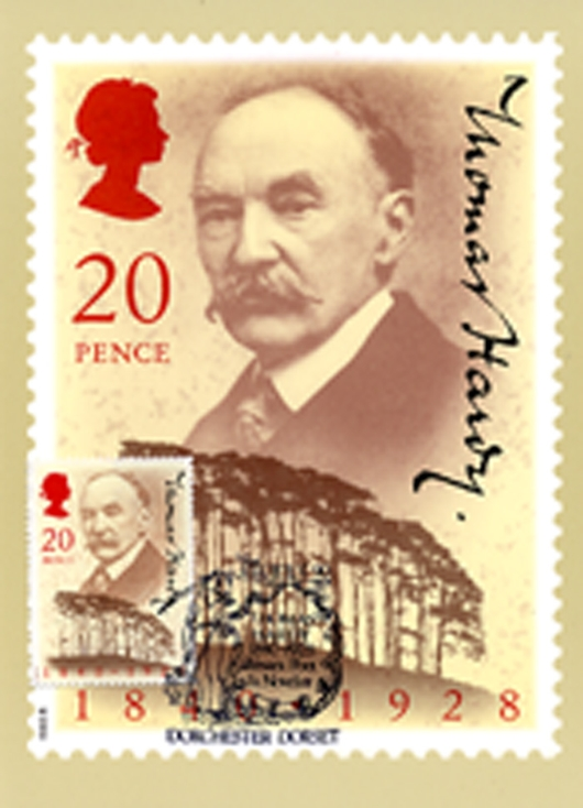 Thomas Hardy PHQ Card