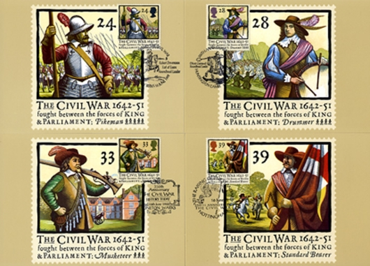 English Civil War PHQ Card