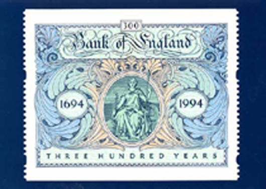 Stamp Book: Bank of England