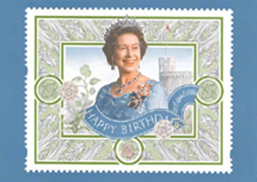 Stamp Book: Queen's 70th Birthday