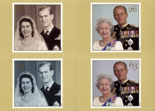 Golden Wedding PHQ Card