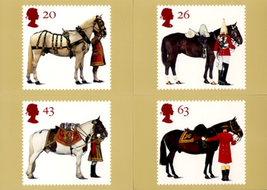 All the Queen's Horses PHQ Card
