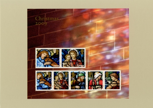 Christmas 2009: Miniature Sheet PHQ Card