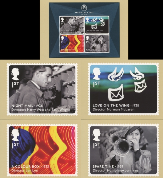 Great British Films: Miniature Sheet PHQ Card