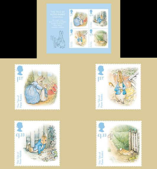 Beatrix Potter: Miniature Sheet PHQ Card