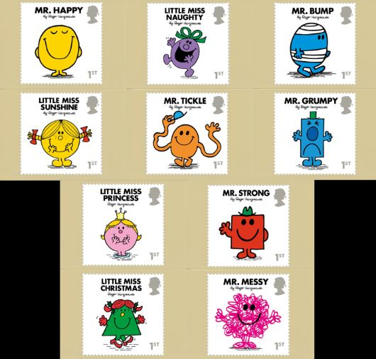 Mr Men & Little Miss PHQ Card